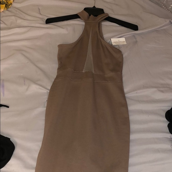 Official Website outlet release date Brown-Mocha Cocktail Dress NWT